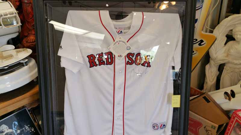 red sox and sports items