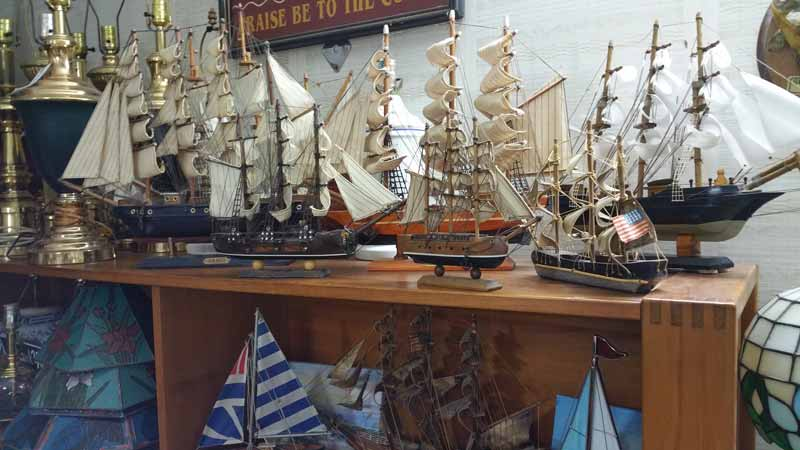 wooden sailboat collectibles